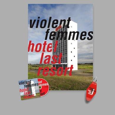 Violent Femmes Hotel Last Resort CD & Poster Bundle