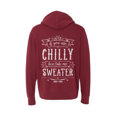 Ingrid Michaelson Chilly Currant Zip Hoodie