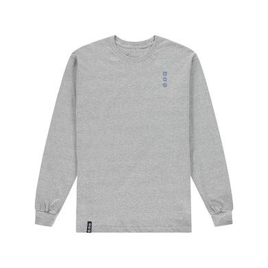 AMOP long sleeve tee - grey
