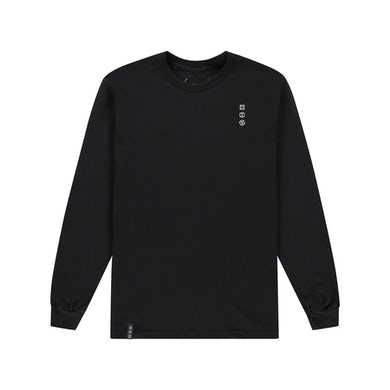 AMOP ARG long sleeve tee - black