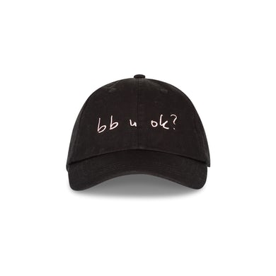 bb u ok? Black Dad Cap