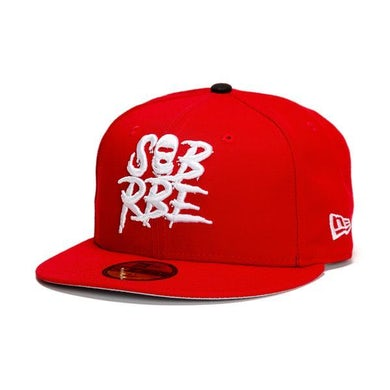 SOB X RBE NEW ERA 59FIFTY FITTED - SCARLET