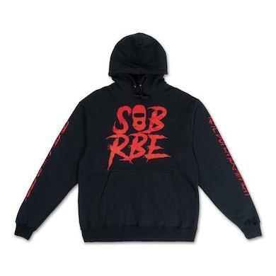 SOB X RBE LOGO HOODIE - BLACK