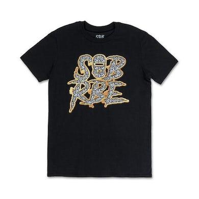 SOB X RBE ICED LOGO TEE - BLACK