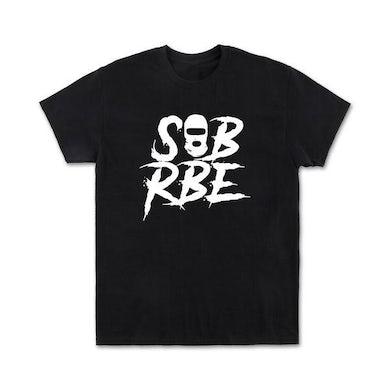 SOB X RBE TEE - BLACK/WHITE