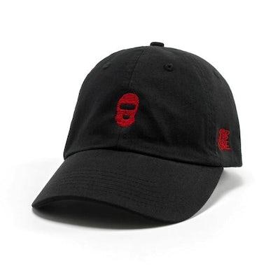 SOB X RBE SKI MASK DAD HAT - BLACK