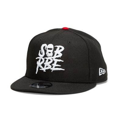 SOB X RBE NEW ERA 9FIFTY SNAPBACK - BLACK
