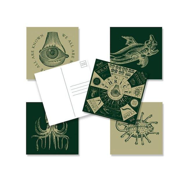"""Thrice """"Vheissu"""" Post Card Set"""