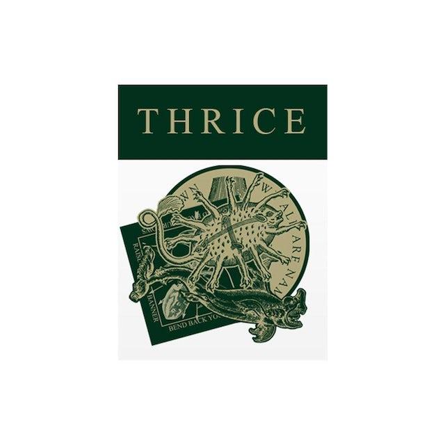 """Thrice """"Vheissu 15"""" 4 Sticker Set"""