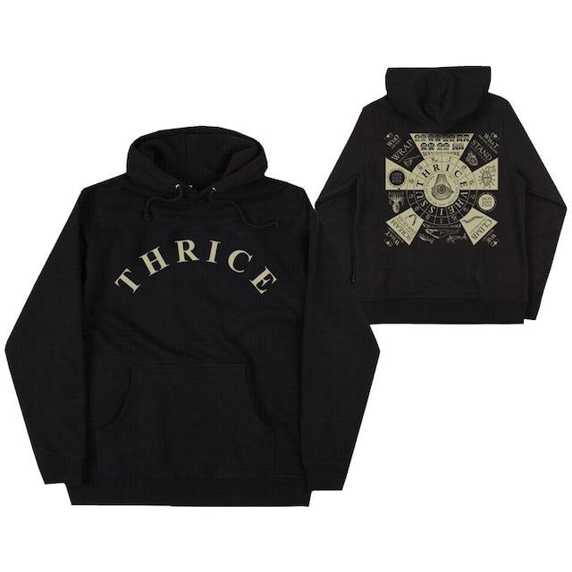 """Thrice """"Vheissu 15"""" Black Pullover"""