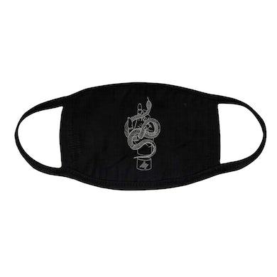 Thrice Snake Black Face Mask