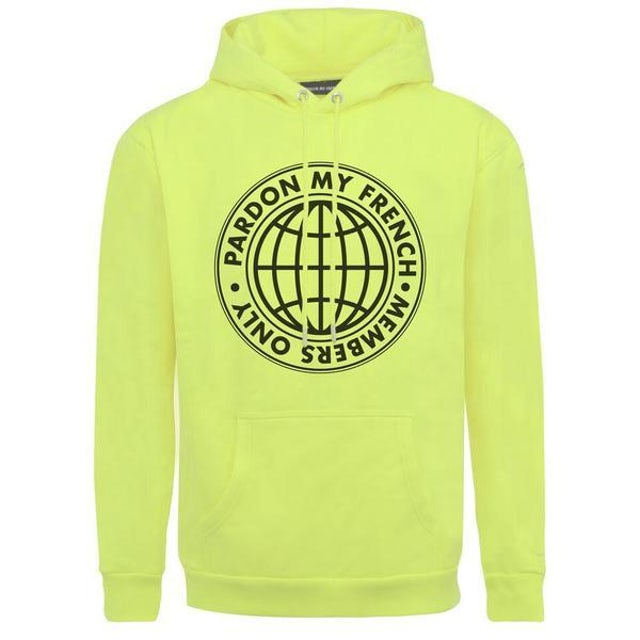 DJ Snake HOODIE MEMBERS ONLY - NEON YELLOW EDITION