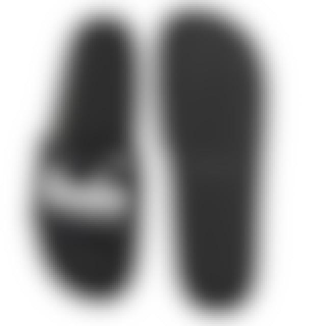 DJ Snake SANDALS PMF - SCRIPT EDITION WHITE PRINT