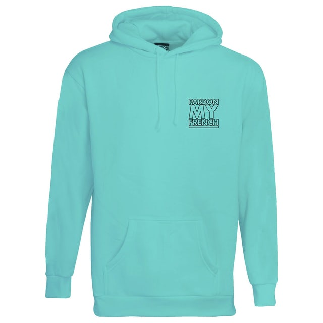 DJ Snake HOODIE TURQUOISE WORLD SPEAK