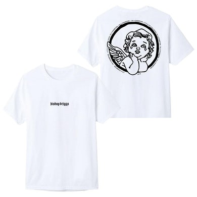 Bishop Briggs CHAMPION WHITE TEE