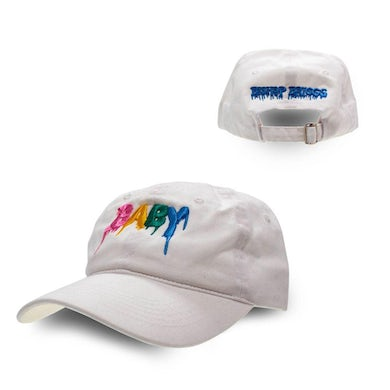 Bishop Briggs BABY DRIP LOGO WHITE DAD HAT