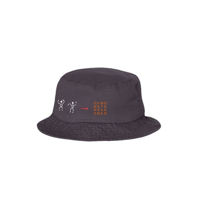 "Of Monsters and Men OMAM ""OMAM SKELETON"" Bucket Hat"