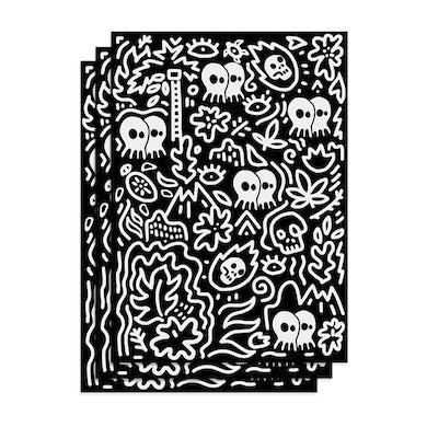"Pepper ""Skullconut"" Wrapping Paper"