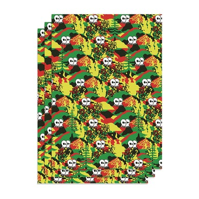 """Pepper """"Rasta"""" Wrapping Paper"""