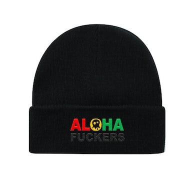 Pepper Aloha Fuckers Black Beanie