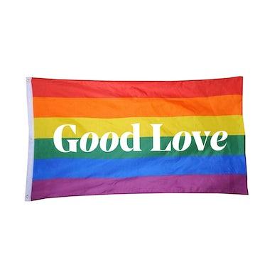 Aly & AJ GOOD LOVE PRIDE FLAG