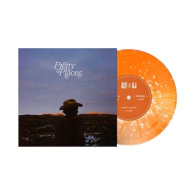 "Aly & AJ Pretty Places 7"" Vinyl"