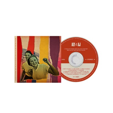 Aly & AJ A Touch of the Beat CD