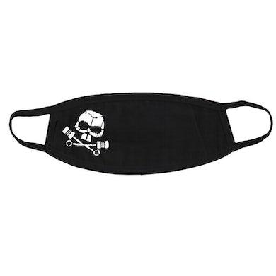 Black Rebel Motorcycle Club Piston Skull Black Mask