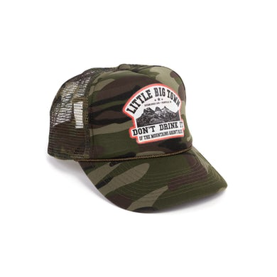 Little Big Town Don't Drink It Camo Hat