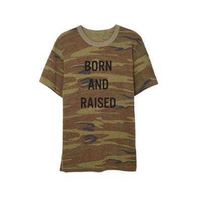 Little Big Town Born and Raised Camo T-Shirt