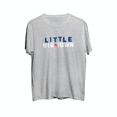 Little Big Town Light Gray LBT Star Youth T-Shirt