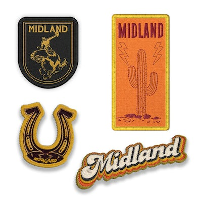 Midland Western Patch Set