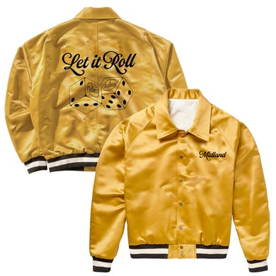 Midland 2020 Let It Roll Gold Bomber Jacket
