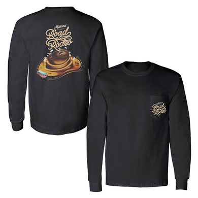 Midland Road to the Rodeo Longsleeve Pocket T-shirt