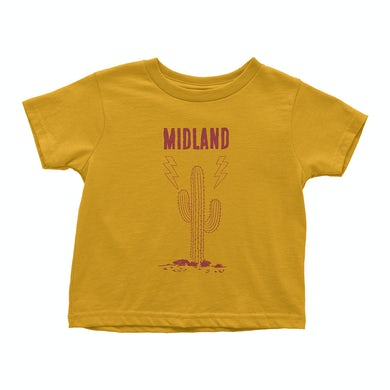 Midland Yellow Cactus Toddler T-Shirt