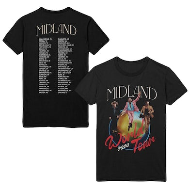 Midland World Tour 2020 Photo Dateback T-shirt