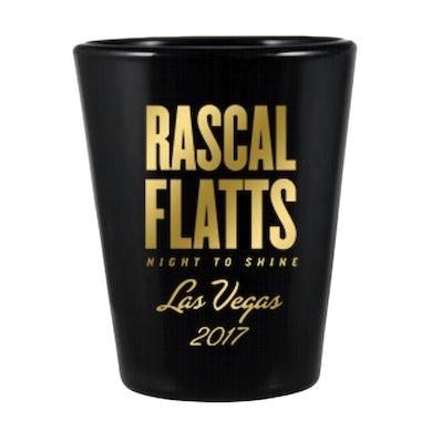 Rascal Flatts Night to Shine Las Vegas Shot Glass