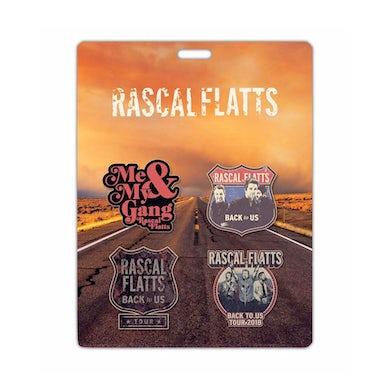 Rascal Flatts Back to Us Tour Pin Enamel Set