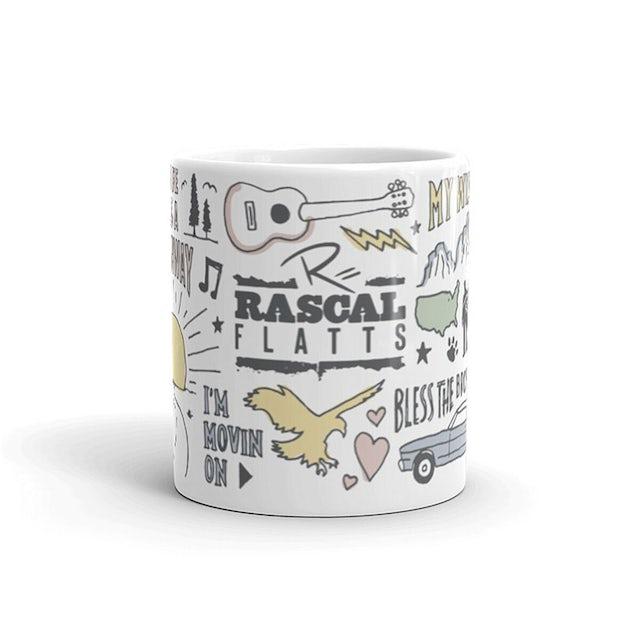 Rascal Flatts Iconic Logos Mug