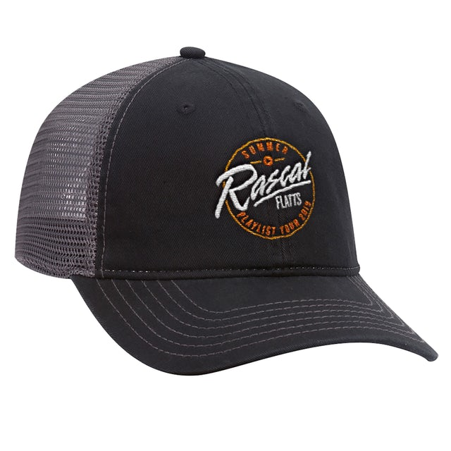 Rascal Flatts Summer Playlist Tour Trucker Hat