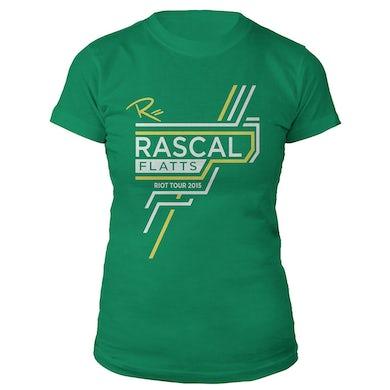 Rascal Flatts Lucky Ladies 2015 Riot Tour T-Shirt