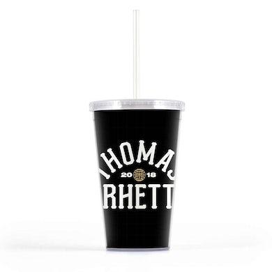 Thomas Rhett 2018 Tour Black Tumbler