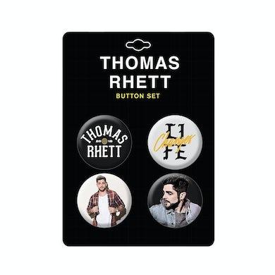 Thomas Rhett TR Life Changes Tour 4-button pack