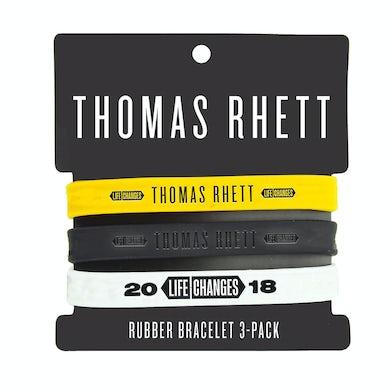 Thomas Rhett 2018 Life Changes Tour Rubber Bracelet Set