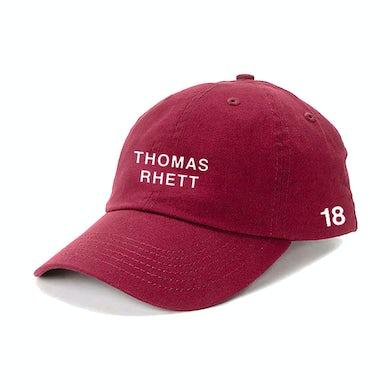 Thomas Rhett '18 Burgundy Dad Hat
