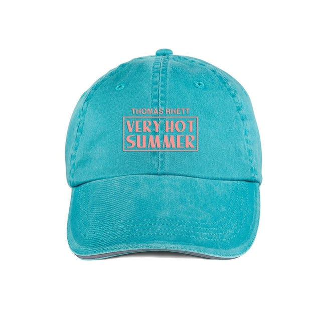 Thomas Rhett VHS Embroidered Teal Dad Hat