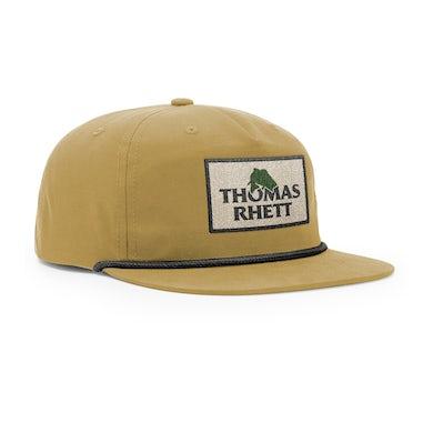 Thomas Rhett Fish Logo Tan Snapback Hat