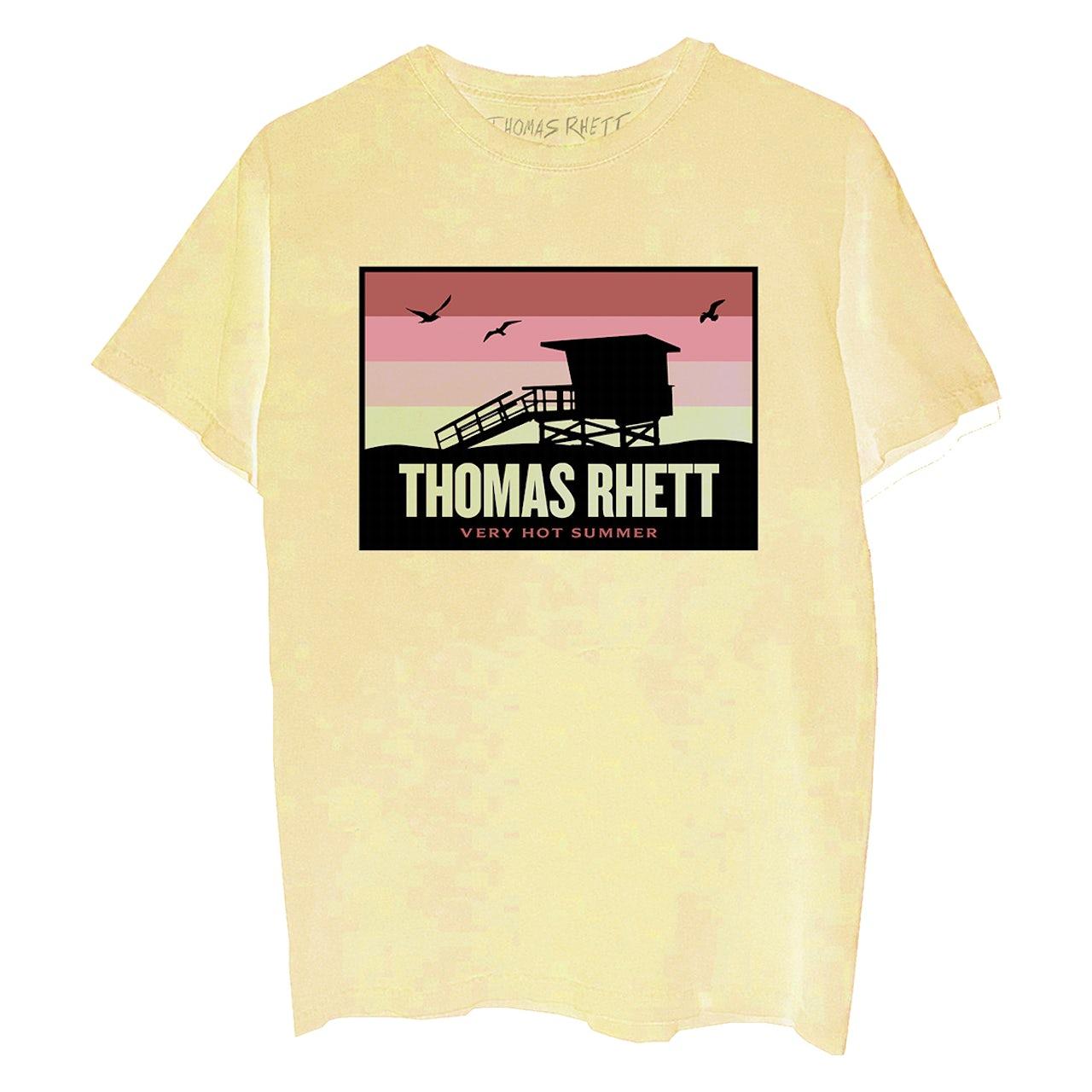 Thomas Rhett Yellow Sunset T-Shirt