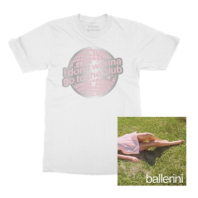 Kelsea Ballerini i don't wanna go to the club t-shirt + ballerini digital download