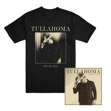 Dustin Lynch Tullahoma T-shirt and CD or Download Bundle